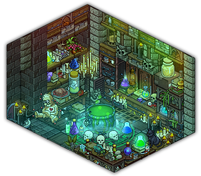 Witch's potion room by Cutiezor
