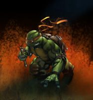 Michelangelo by deffectx