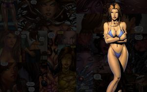 Witchblade.Bikini by Troilus
