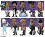 The Evolution of Samuel L Jackson by JeffVictor