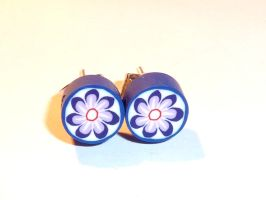 "Earrings ""Flower Power"" by crazylama"