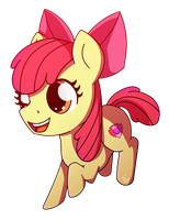 Chibi Apple Bloom by ForeverRoseify
