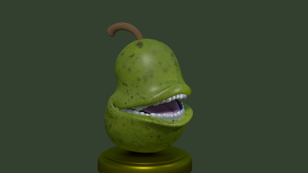 Putting the Pear on a Pedestal! by Rotalice2