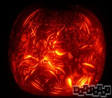 Fullmetal Pumpkin spinning by A--Anthony