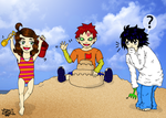 Beach Babies - Prize for DemonoftheCakeXx by BrightRedEyes