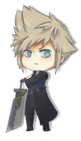 Cloud Chibi by Owyn-Sama