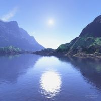 Terragen: ANDESITIC by 1footonthedawn