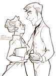 Victorian!sherlolly coloring book page 3 by lexieken
