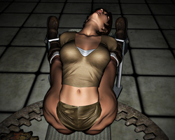 Lara Croft in Peril: The Spreader 20 END by FatalHolds