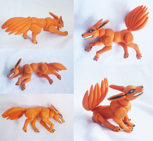 Nine-tailed fox doll: by vonborowsky by goiku