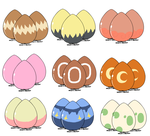 Egg adopts - OPEN! (17/27) by Amelie-The-Pixie