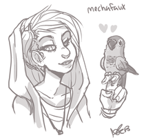 Mechafaux by yeffyaboyuice