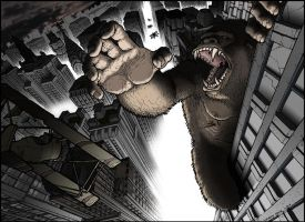 King Kong Photoshop by terrysong