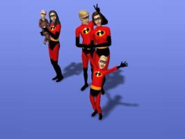 :The Incredibles: by charliemalfoy