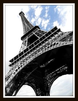Eiffel Tower - edited :D by Sayder-Cascading