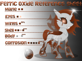 Ferric Oxide (ROxi) Reference Sheet by equinepalette