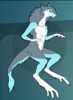 Glacier the Sergal by PiccoloFreakNamick