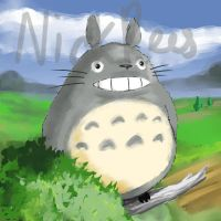 Totoro by nick-rees