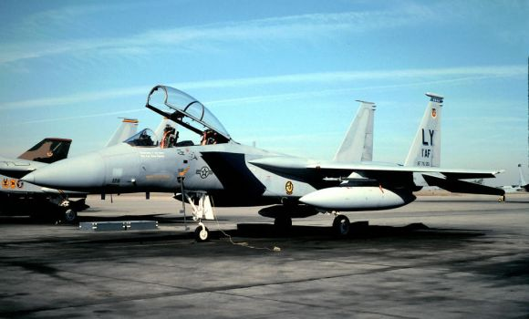 Langley F-15B in later markings by F16CrewChief