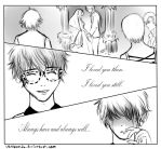 sad seven mystic messenger comic by Usachan26
