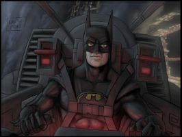 Batman 02 Michael K by Niggaz4life