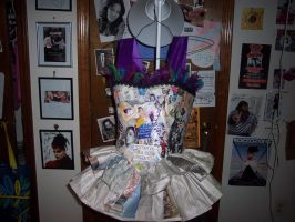 Newspaper Dress by illcoveryouwjh