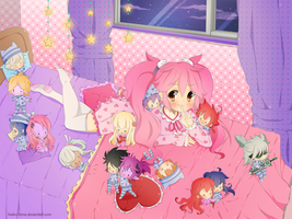 .Amy's Bedroom. by lNeko-Hime