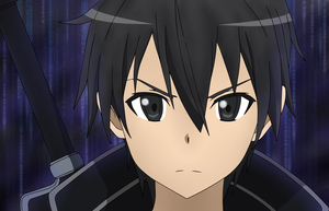 Kirito - Sword Art Online by deshanrocks
