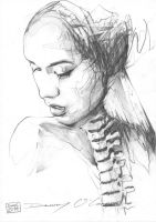 Portrait With Spine by ART-BY-DOC