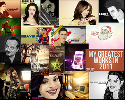 my greatest works in 2011 by CoolDes
