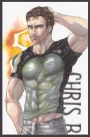 Chris Redfield by lshikawaGoemon