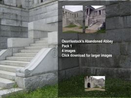 Abandoned Abbey Pack 1 by OsorrisStock