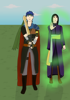 Ike and Soren by bloodcoveredfangirl