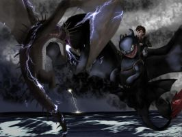 The Night Fury vs the Skrill (HTTYD2 webnovel ch2) by inhonoredglory