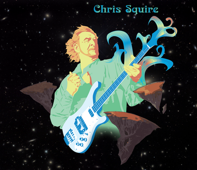 Chris Squire by Tiodu