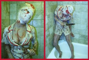 Silent Hill Nurse by InkIsMyPassion