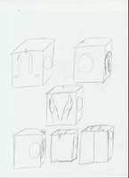 Me - compressed into a cube by MetaKnight2716