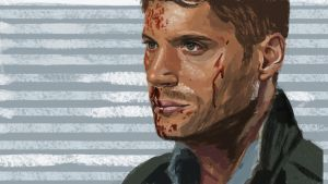 Dean In Blood by klice-chan