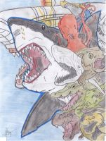 Mega Shark: Decisive Battle of Monsters by AVGK04
