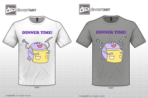 Dinner Time!  Cute Monsters contest entry by grampagort