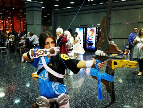 Master Hanzo Cosplay Acen 2017 by grimmons88