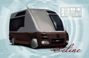 Shadowrun Luxurious Van by raben-aas