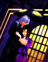 MMDKH~Warm Rain~RikuXion ~ REQUEST 4-1/2 by XxChocolatexHeartsxX