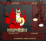 The X Clans Application: LightWing by PacificIslanderGirl