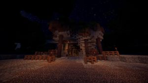 Minecraft: Mine Entrance (TheRoleplayWorld) by GamerPeons