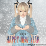 Marie Rose render - ~Happy new year~ (XNA) by ExistingBox9