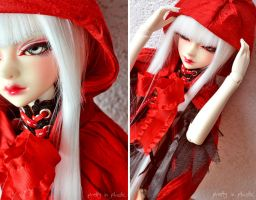 Red Riding Hood and the Wolf - 02 by prettyinplastic