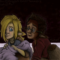 Das Haus - Two Under The Couch by In-Tays-Head