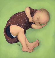 My Newborn by soluble-hermit