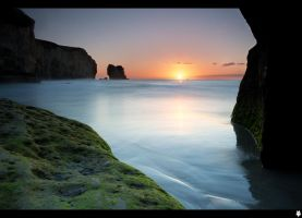 Tunnel Beach Rock 5 by shadowfoxcreative